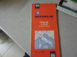 CARTE MICHELIN    ITALIE SUISSE  GRANDES ROUTES  N° 988 - Cartes Routières