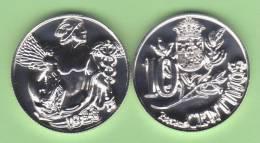 SPAIN / ALFONSO XIII 10 CÉNTIMOS 1.928 CU NI  UNC ¡¡¡VERY RARE!!!! T-10.167 De. Can. - Coins & Banknotes