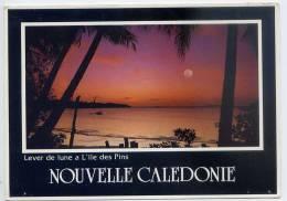 Nouvelle Calédonie-- Lever De Lune à L'Ile Des Pins ,cpm  N°492 Photo F.Fourmanoir éd Solaris Nouméa - Nieuw-Caledonië
