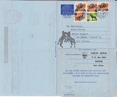 New Era College Kenya Aerogramme Nairobi East Africa 1969 München Munich Olympics Deutschland - Kenya (1963-...)