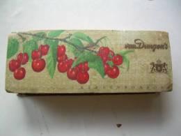 Nrd06 - Boite En Carton à Chocolat Van Dungen´s - Kersenbonbons, Cerises - Nijmegen Holland - Boîtes