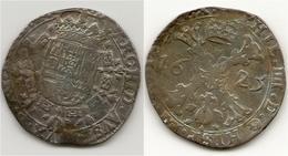 FELIPE IV DE ESPAÑA  PAISES BAJOS-BELGICA 1625 1/2 PATAGON  BRABAT  NL035 - [ 1] …-1931 : Reino