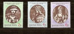Hongarije Hongrie Ungarn 1988 Yvertn° 3157-59 *** MNH Cote 3,50 Euro - Nuevos