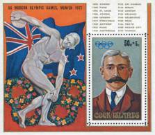 Ref. 82724 * NEW *  - COOK Islands . 1972. GAMES OF THE XX OLYMPIAD. MUNICH 1972. 20 JUEGOS OLIMPICOS VERANO MUNICH 1972 - Cookeilanden