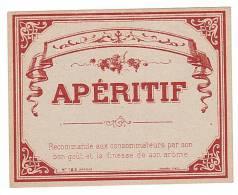 ETIQUETTE - APERITIF. - Rhum