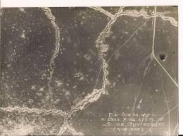 Juvincourt Aisne Photo Aérienne Française Poilus 14-18 WWI Ww1 1wk 1914-1918 - Oorlog, Militair