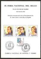 España Hoja Recuerdo 1976 HR 044 Reyes. Matasellada - Commemorative Panes