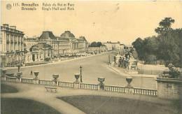 BRUXELLES - Palais Du Roi Et Parc (Albert 115) - Bossen, Parken, Tuinen