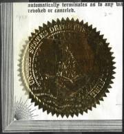 Sceau Du Département De L´Agriculture Des USA - Historische Dokumente