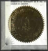 Sceau Du Département De L´Agriculture Des USA - Historical Documents