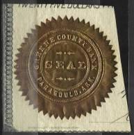 Sceau De La Green County Bank à Paragould. ARK. (USA) - Historical Documents