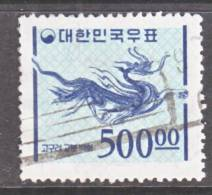 Korea 374a    Granite Paper   (o)   1964-6  Issue - Korea, South