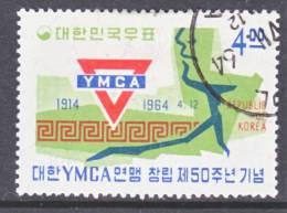 Korea 431  (o)  YMCA