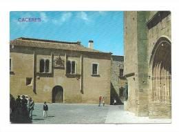 Cp, Espagne, Caceres, Palais De Mayoralgo - Cáceres