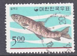 Korea 497  (o)  FISH - Korea, South