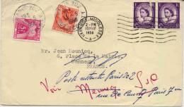 Lettre De Grande Bretagne Avec Taxe En 1958 - Postmark Collection (Covers)
