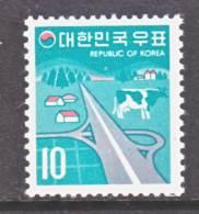 Korea 645  **   No Wmk.  1969-74 Issue - Korea, South