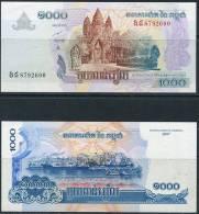 Cambodia 2007 1000 Riel  UNC - Cambodia