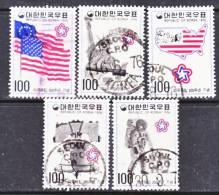 Korea 1034-8   (o)  AMERICAN  BICENTENNIAL - Korea, South