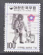 Korea 1038   (o)  AMERICAN  BICENTENNIAL  ASTRONAUT - Korea, South