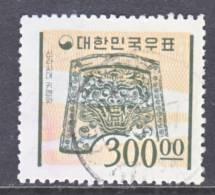 Korea 1078   (o)  1976-77 Issue - Korea, South