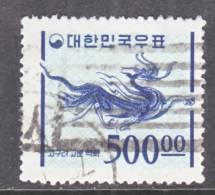 Korea 1079   (o)  1976-77 Issue - Korea, South