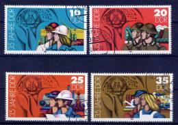 DDR Nr.2898/2901      O   Used      (9403) ( Jahr: 1984 ) - DDR