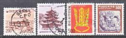Korea 1099-1102   (o)  1977-79 Issue - Korea, South