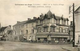14 CREVECOEUR EN AUGE HOTEL DE LA VALLEE D'AUGE MENOCHET ARCHITECTE - France