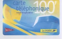 Carte Téléphonique LA POSTE - Kertel - 100 F - Frankrijk