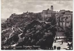 "Card Cartolina Enna ""Passeggiata Belvedere Marconi""  Viaggiata - Italy Italia-""""- - Enna"