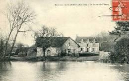 N°25682 -cpa Environs De St James -la Ferme De L'Etang- - Autres Communes