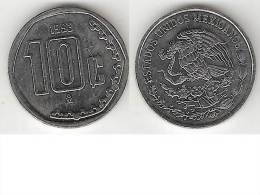 Mexico 10 Centavos 1993  Km 547  Unc  * - Mexico