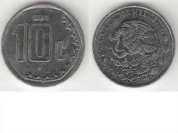 Mexico 10 Centavos 1994  Km 547  Unc * - Mexico