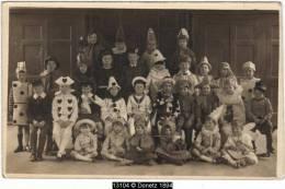 13104g DÉGUISEMENT Pierrot Lunaire - Enfants En Costume - Grupo De Niños Y Familias
