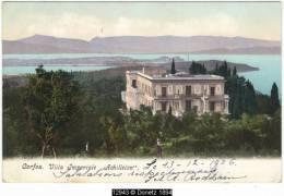 "12943g CORFU - Villa Imperiale ""Achilleion"" - 1906 - Grèce"