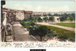 12944g CORFU - L'esplanade - 1906 - Grèce
