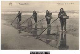 10202g PÊCHEUSES De Crevettes - Nieuport-Bains - Nieuwpoort