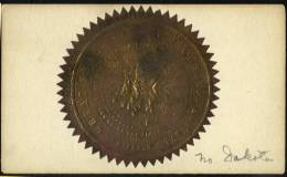 Le Grand Sceau De L´état Du Nord Dakota (USA) - Historical Documents