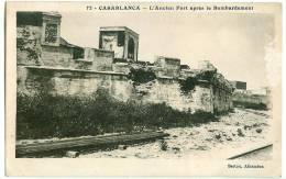 Casablanca - L´Ancien Port Après Le Bombardement - Casablanca