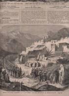 L´UNIVERS ILLUSTRE 08 11 1860 - SYRIE DEIR EL KAMAR - CHUTE DU ZAMBEZE - LAC DES QUATRE CANTONS URI - RAMONEURS - Journaux - Quotidiens