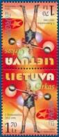 Lithuania 2002 EUROPA CEPT  Tete-beche (2v) ** MNH **