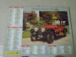 ALMANACH DU FACTEUR   1999     DEPARTEMENT  66 - Calendarios