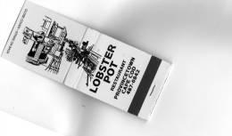 POCHETTE D'ALLUMETTES LOBSTER POT - Boites D'allumettes