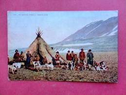 Eskimo Family Greenland  Circa 1910== = =ref 733 - Greenland