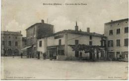6263 -  Rhone -  BRINDAS  :  Un Coin De La Place  ,  Circulée En 1926 - Frankreich