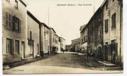 6264 -  Rhone -  BRINDAS  :  Rue Centrale   ,  Circulée En 1926 - Frankreich