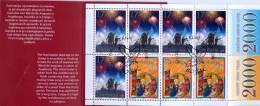 Slovenia 1999 Christmas Booklet Pane Of 10 Used - Lot. A266 - Slovenia