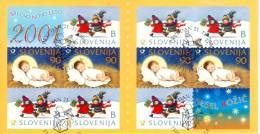 Slovenia 2000 Christmas Booklet Pane Used - Lot. A267 - Slovenia