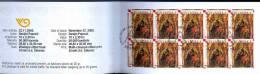 Croatia 2005 Christmas Booklet Pane Of 10 Used - Lot. A269 - Croazia
